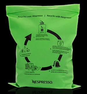recyclage de capsules nespresso